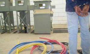 بقيمة 40 مليون ليرة .. تسجيل 1400 ضبط سرقة لتجهيزات كهربائية في حمص
