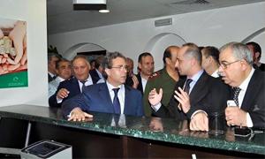 بحضور حاكم المصرف المركزي..إعادة افتتاح فرع بنك سورية الدولي الإسلامي في حمص