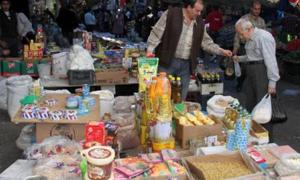 إحالة 60 ضبط مخالفة مواد وأسعار إلى القضاء في دمشق
