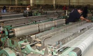 خروج تسع شركات نسيجية جديدة من الخدمة في سورية