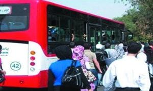وصول 20 باصاً جديداً للنقل الداخلي إلى حلب