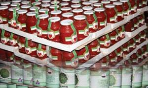 كونسروة دمشق في ثلاثة أشهر.. مبيعاتها 116 مليون وأرباحها أقل من مليون ليرة ..!
