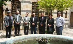 السواح رئيساً لمجلس إدارة جمعية أصدقاء دمشق