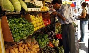 أسعار الخضار والفواكه في دمشق ليوم 9-6-2015