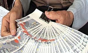 السوريون ينفقون 998 مليون ليرة على اليانصيب منذ بداية 2015