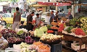نشرة أسعار الخضار والفواكه بريف دمشق: البطاطا بـ100 والموز بـ150 ليرة