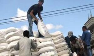 مديرية حماية المستهلك بريف دمشق تضبط 118 طن من الطحين التمويني المهرب