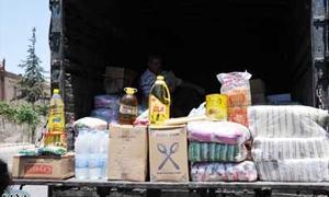 البرنامج الأسبوعي لتواجد سيارات الاستهلاكية التي تبيع السلع الغذائية بأسعار مخفضة وأماكن تواجدها باحياء دمشق
