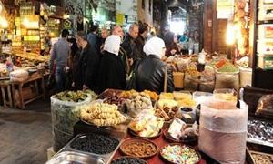 تموين ريف دمشق ينظم 780 ضبطاً تموينياً خلال شهر تشرين الأول الجاري