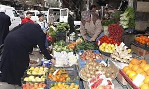 أسعار الخضار والفواكه تستمر بالصعود..البطاطا بـ125 والخيار بـ300 ليرة