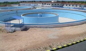 انتهاء تنفيذ محطة معالجة الصرف الصحي للجنديرية