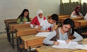 757 ألف طالب وطالبة يتوجهون لامتحانات الشهادة الثانوية العامة في سورية
