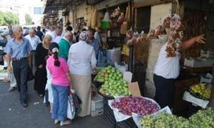 أسعار السلع الغذائية ترتفع 125% في دير الزور..وتنظيم 1520 ضبطاً تموينياً