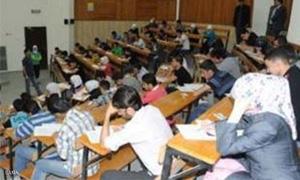 %40 من طلاب جامعة دمشق في الدورة الإضافية الثالثة