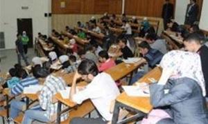 المراكز الامتحانية في الجامعات السورية تستقبل 15ألف طالباً من الرقة