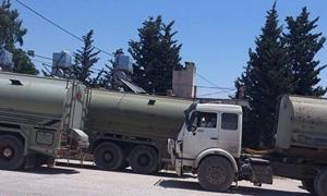 ضبط صهريج يحتوي 45 ألف ليتر من المازوت المعد للاتجار في حمص