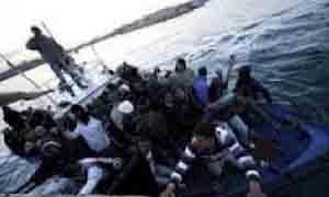 العثور على  63 مهاجراً سورياً عند شواطئ جزيرة