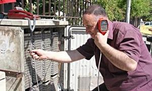 130 مليون ليرة خسائر الاتصالات في حمص القديمة