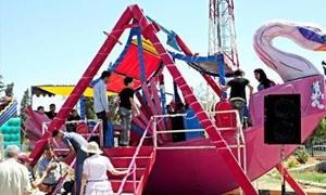 محافظة دمشق تحدد 12 موقعاً لألعاب العيد
