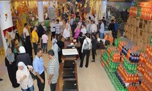 5 ملايين ليرة المبيعات اليومية لمهرجان التسوق في مجمع الأمويين..هاجم الذيب: المؤسسة تخطط للتوسع في التجرية ضمن 4 منافذ في دمشق
