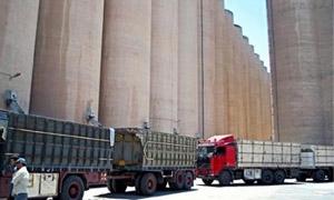 انخفاض نسبة التخزين  في الشركة العامة لصوامع الحبوب إلى 1980 طن.. وتراجع تنفيذ المشاريع مع الجانب الإيراني لأقل من 1%