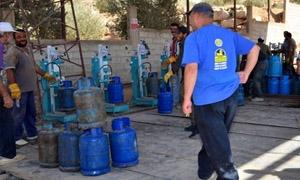 افتتاح وحدة لتعبئة الغاز باستطاعة 14 ألف اسطوانة يومياً