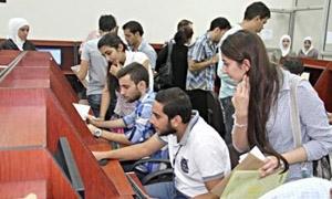 جامعة دمشق: إجراءات جديدة لتخفيف الضغط على مراكز تسجيل المفاضلات