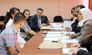 تجهيز المركز الوطني للمتميزين في جامعة تشرين لبدء العام الدراسي