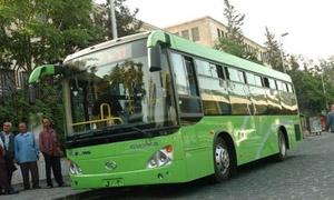 65 باص للنقل الداخلي بعد أيام قليلة في حلب