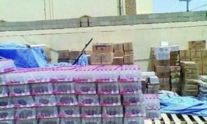 وصول 18 شاحنة محملة بمدافئ وألبسة ومواد غذائية للمتضررين