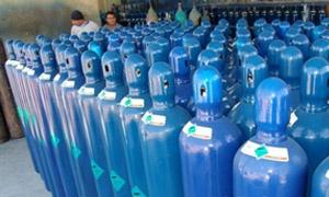 وزارة التجارة الداخلية تحدد سعر مبيع اسطوانة الأوكسجين بمبلغ 450 ليرة