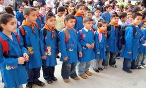 مديرية التربية بريف دمشق: تطبيق الدوام النصفي في كل مدارس المحافظة