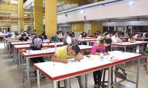 1396 ناجح في كلية الهندسة المعمارية بجامعة دمشق هذا العام
