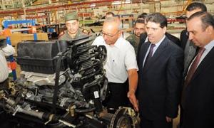 رئيس الحكومة:مشاريع مستقبلية لإحداث 25 منطقة صناعية..وعدد المنشأت الصناعية بعدرا ارتفع لـ630 باستثمارات أكثر من 260 مليارليرة