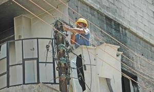 كهرباء دمشق تنظم 792 ضبط استجرار غير مشروع خلال الربع الثالث من العام الجاري