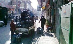محافظة دمشق: توزيع 6آلاف اسطوانة غاز الاسبوع الماضي على 10 مناطق
