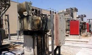 حريق في خزان كهرباء بحي الميدان بدمشق جراء الحمولة الزائدة