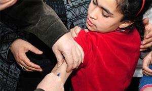 وزارة الصحة تطلق حملة تلقيح ضد الحصبة وشلل الأطفال في المدارس الأحد القادم