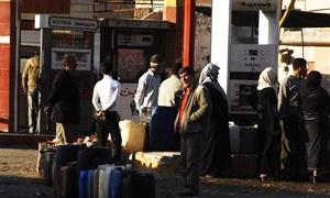 محروقات دمشق: عدد طلبات المازوت المنفذة 14 ألف من اصل 25 ألف..و15% أجلو استلام المادة لارتفاع أسعارها
