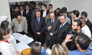 وزير الادارة المحلية: تخصيص 72 مليون ليرة لإعادة تأهيل البنى التحتية بجرمانا