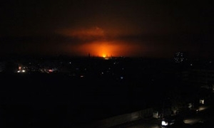 انقطاع الكهرباء عن المنطقة الجنوبية جراء استهداف أحد خطوط الغاز