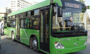 محافظة دمشق تعيد تشغيل 150 باص نقل داخلي بتسعيرة مخفضة 10 ليرات