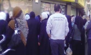 طوابير أمام الشركة الوحيدة في سورية لاستلام حوالات