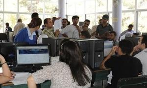 جامعة دمشق تحدد شروط ومراكز التقدم لمفاضلة التعليم المفتوح وتسمح بالتقدم عبر الانترنت