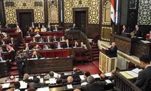 مجلس الشعب يحيل مشروع الموازنة العامة للدولة المقدرة بـ1390 مليار ليرة إلى لجنة الموازنة والحسابات لتدقيقه