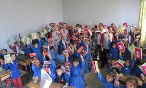 إل جي تقدم 10 آلاف مجموعة من القرطاسية لأطفال الأسر المتضررة في مراكز الإيواء