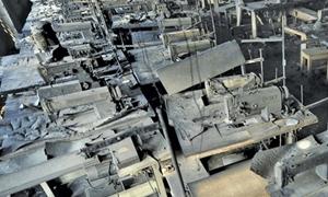 نحو 293 مليار ليرة أضرار القطاع الصناعي الخاص في 5 محافظات سورية