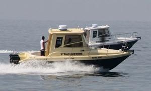 الجمارك العامة تضع 3 زوارق سريعة بالخدمة في ميناء طرطوس لملاحقة المهربين وحماية الشواطئ