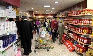 استقرار بأسعار المواد الغذائية بصالات الخزن في دمشق.. وكيلو لحم الغنم ترتفع لـ1850 ليرة