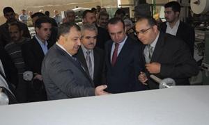 وزير الصناعة: وضع استراتيجية شاملة لتحديث الصناعة السورية..وتطوير 36 شركة صغيرة ومتوسطة
